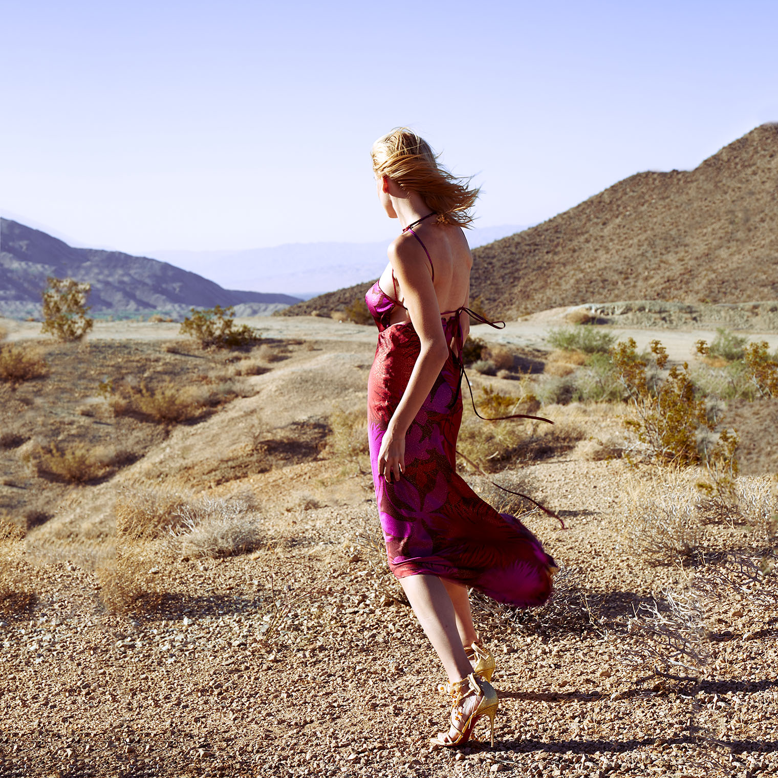 Fashion Photography in California: landscape and the infinite horizon