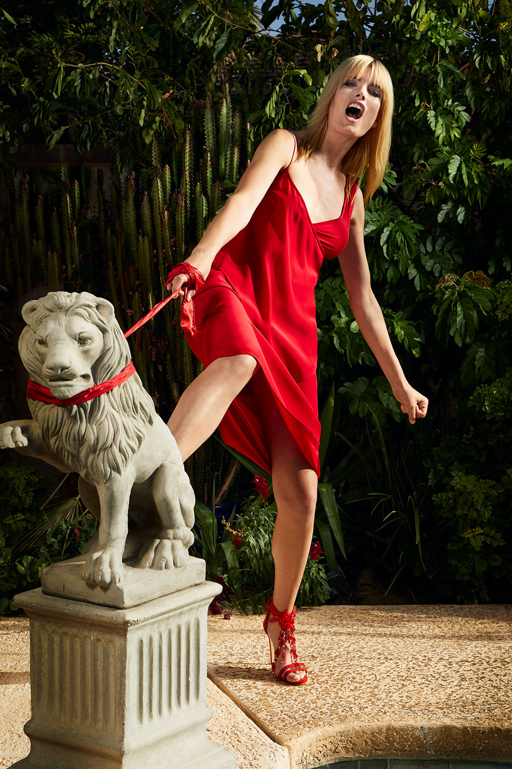 Fashion Photographer Los Angeles New York - the lion