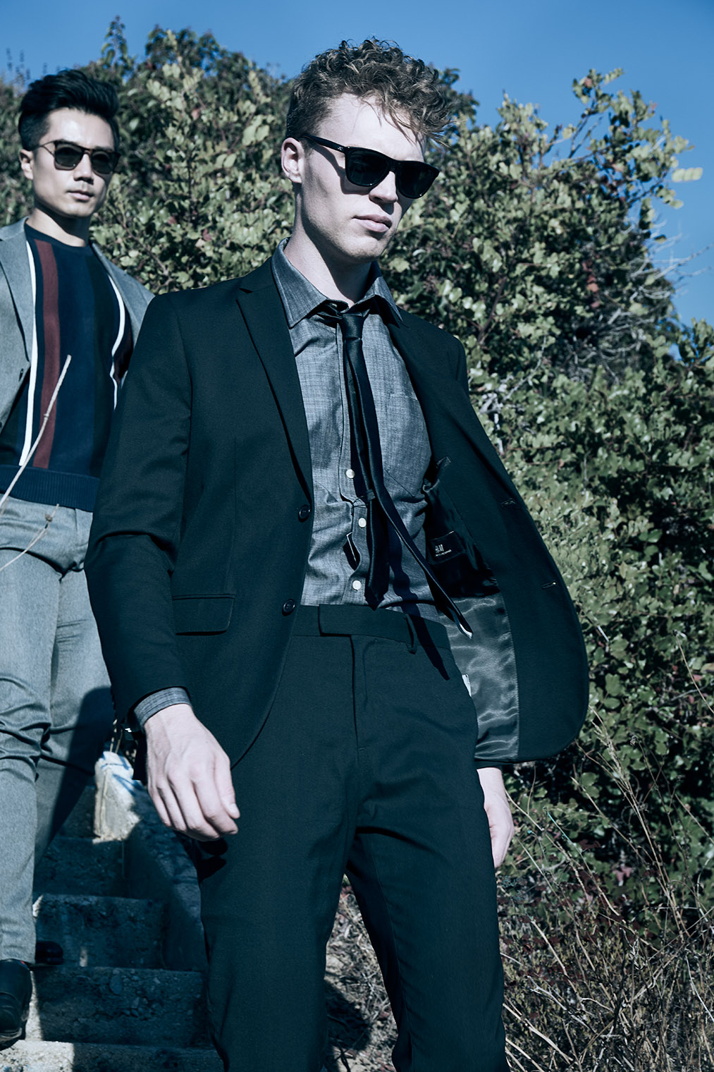 Mens Fashion Photography - The Cool Walk