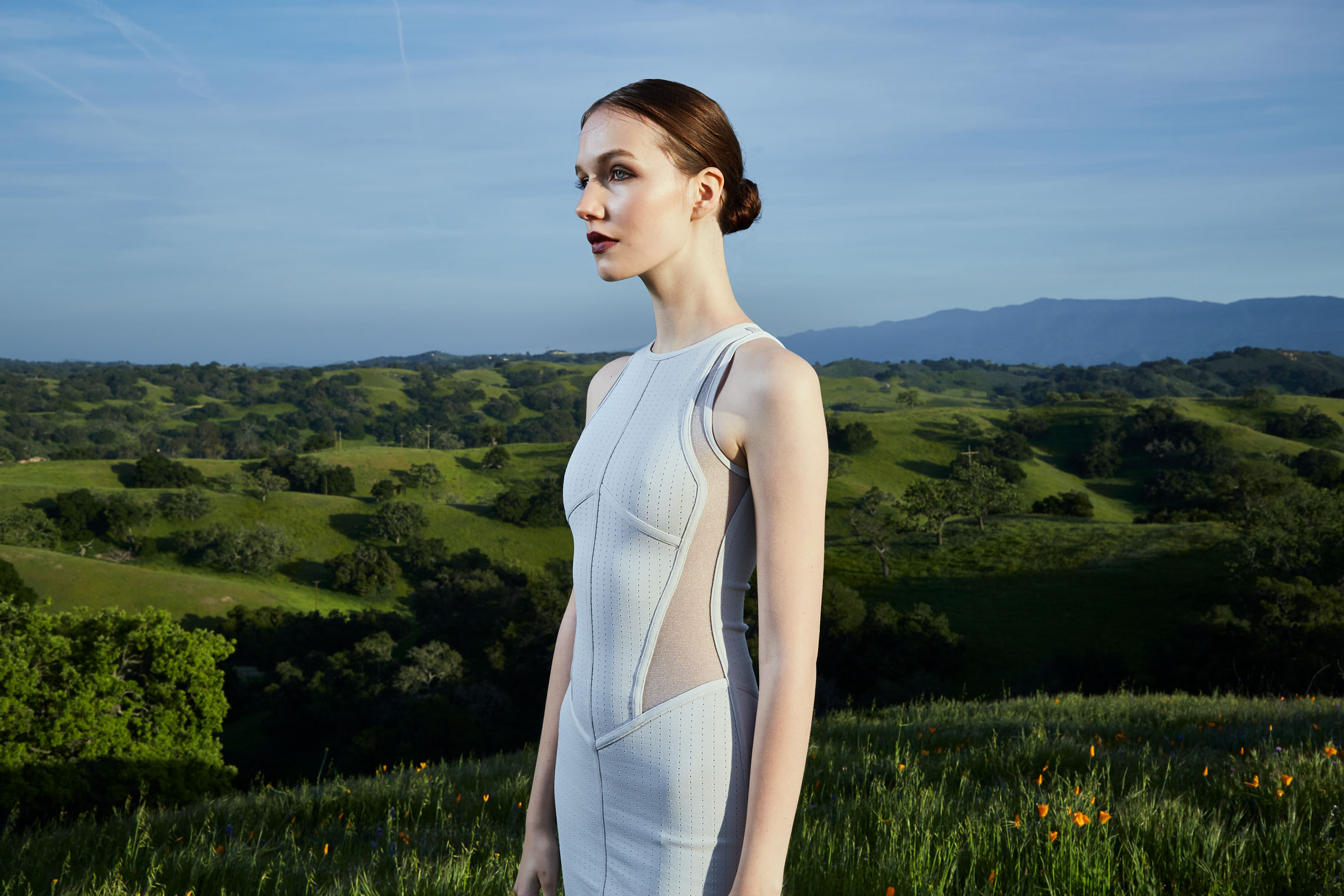 Fashion Photography Los Angeles - The Girl in the Landscape